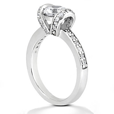 Gorgeous diamonds 1.41 Ct. engagement ring solitaire