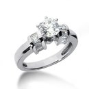 Gorgeous diamonds 1.51 carat anniversary ring gold