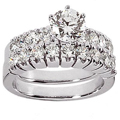 Diamonds engagement ring real genuine 1.65 cts. diamond