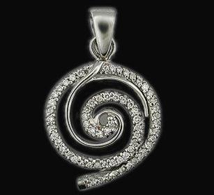 4 Ct. diamonds pendant F VVS1 diamond necklace & chain