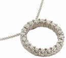 5 carats CIRCLE OF LIFE diamond pendant with chain