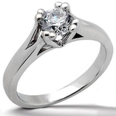 DIAMOND F VS1 SOLITAIRE RING 1.0 CT. Platinum