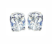 NEW OVAL CUT diamond studs earring G SI1 Platinum