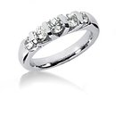 Diamonds wedding band set F VVS1 diamond ring 1.65 cts.
