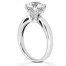 1.57 Ct. DIAMOND engagement ring 4 prong style gold new