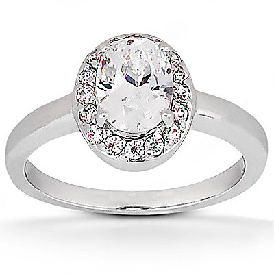 1.25 Ct. Diamond solitaire ring E VVS1 diamonds & gold