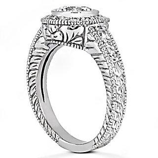Diamonds 1.35 ct. ring E VVS1 diamonds men's ring gold