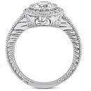 Diamonds 1.35 ct. ring E VVS1 diamonds men's ring gold