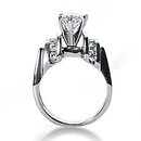 1.85 ct. diamond ring F VVS1 diamonds engagement ring