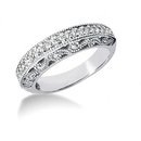 1.60 carat diamonds engagement ring gold band set new