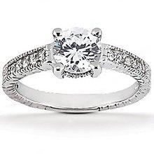 Diamond wedding ring 1.75 ct. diamonds F VS1 gold new