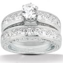 Diamond anniversary ring F VVS1 2.75 ct. diamonds ring