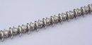 8 carat DIAMOND TENNIS BRACELET jewelry antique S style