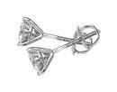 1.80 carats diamond studs platinum martini CUSTOMIZED