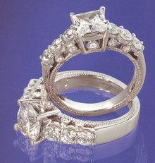 2.51 carat diamond engagement ring platinum brilliant