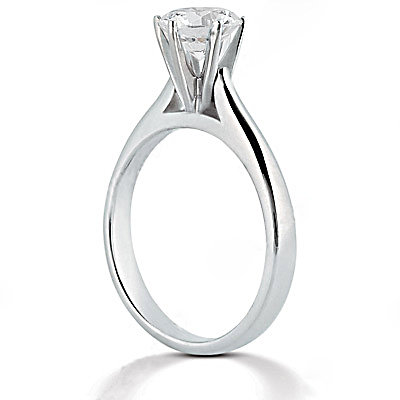 Diamond 1.50 ct. solitaire wedding ring white gold