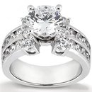 2.25 carat diamond ring F VS1 diamonds engagement ring