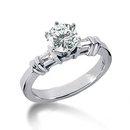 1.85 carat diamonds anniversary ring 3 stone gold ring