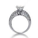 2.25 carat diamonds anniversary ring white gold jewelry