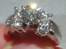 3.25 carats DIAMOND engagement ring large 1.5 carat