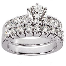 Diamonds engagement ring real genuine 3.51 cts. diamond