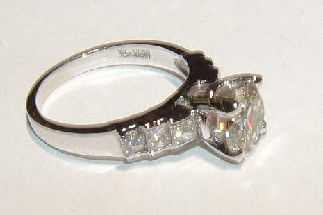 2.01 CT G VS1/VVS1 DIAMOND solitaire ring platinum NEW