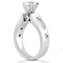 Diamonds anniversary ring F VVS1 diamonds 2.01 ct. gold