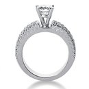 2.01 carat diamonds engagement ring F VVS1 diamonds
