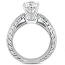 2.01 carat diamonds engagement ring white gold new