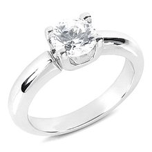 F VS1 Diamonds 1.75 ct. ENGAGEMENT RING SOLITAIRE