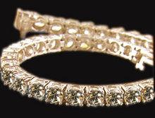 Chocolate diamonds champagne diamond jewelry bracelet