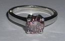 1.75 carat PINK diamond ring solitaire jewelry NEW