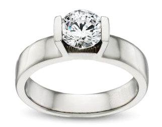 F VS1 diamond 2 Ct. solitaire ring anniversary ring new