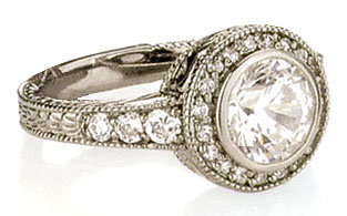 3.23 carat G VS1/SI1 DIAMOND SOLITAIRE RING anniversary