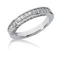 2.51 carat diamonds ring engagement band set gold ring