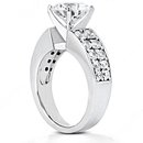 2.75 carat diamonds anniversary ring white gold new