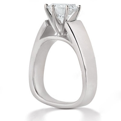 E VVS1 Diamond ring solitaire engagement 1.51 ct. ring