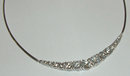 6.4 carats graduated diamonds necklace LARGE DIAMOND