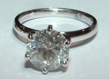 Diamonds 2.0 ct G VS2 DIAMOND solitaire ring !