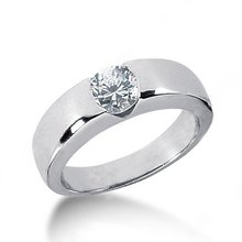 2.0 carat gorgeous DIAMOND SOLITAIRE ring gold