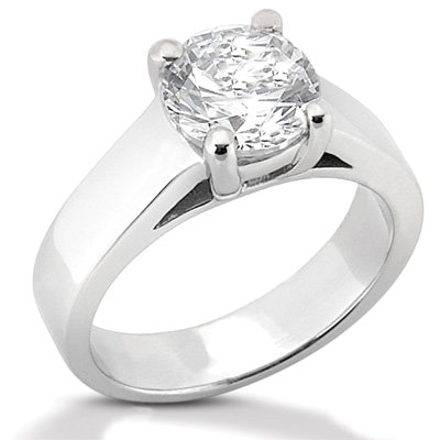 2.01 carat F VS1 DIAMONDS SOLITAIRE ring white gold