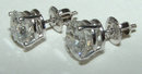 G SI1 diamonds stud post earrings 5 carat ear ring