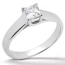 1.75 Ct. white gold E VVS1 DIAMOND SOLITIARE RING new