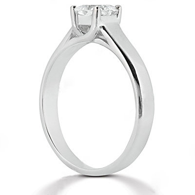 1.75 Ct. white gold E VVS1 DIAMOND SOLITIARE RING new
