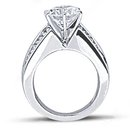 Beautiful diamonds 4.25 carats diamond engagement ring