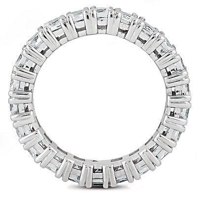 Diamond eternity wedding band F VS1 diamonds 10.20 Ct.