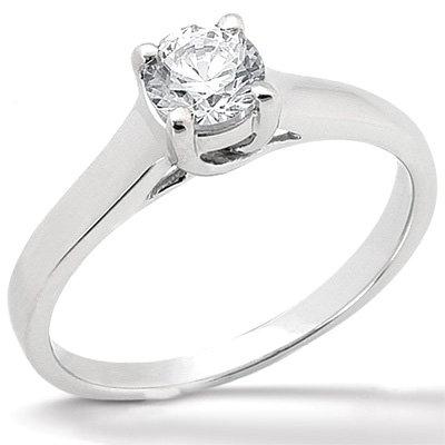 2.50 carat F VS1 diamonds solitaire engagement ring