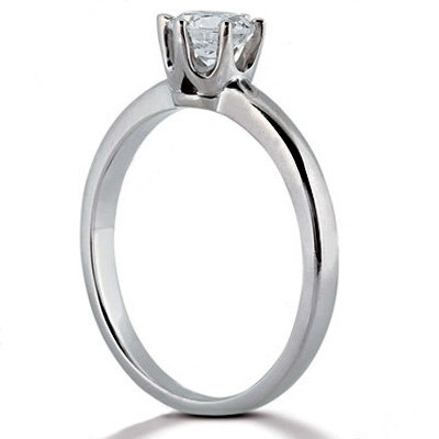 New 2.50 carat F VS1 diamonds solitaire engagement ring