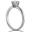 New 2.50 carat F VS1 diamonds solitaire engagement ring