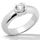 F VS1 DIAMOND RING 2.50 carat solitaire white gold